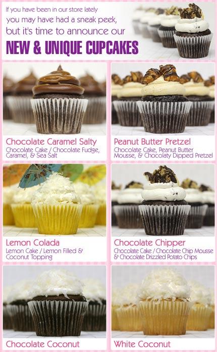 New Cupcake Flavors
