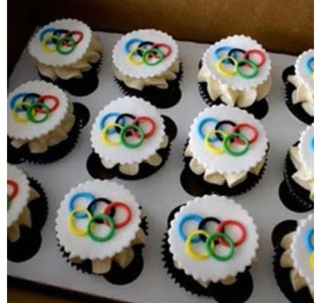 Olympic Cupcakes Ideas