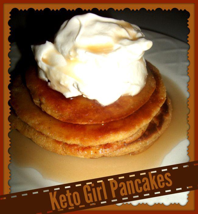 Pancakes with Almond Flour Keto