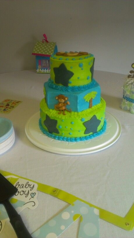 Pinterest Monkey Baby Shower Cakes