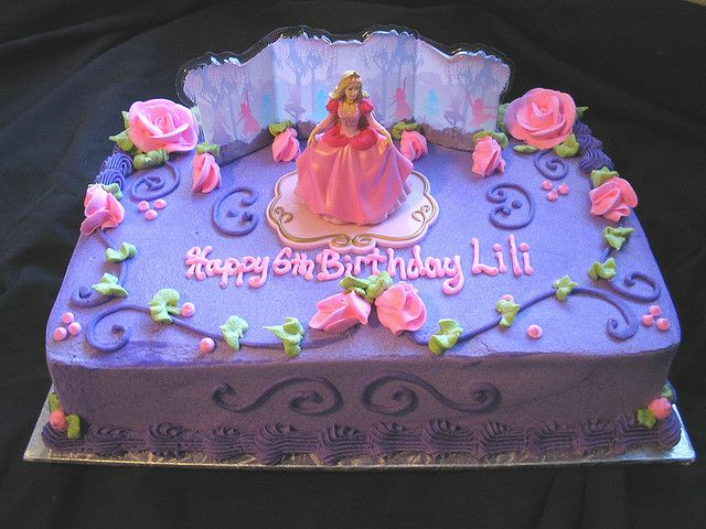 Princess Sheet Cake Designs