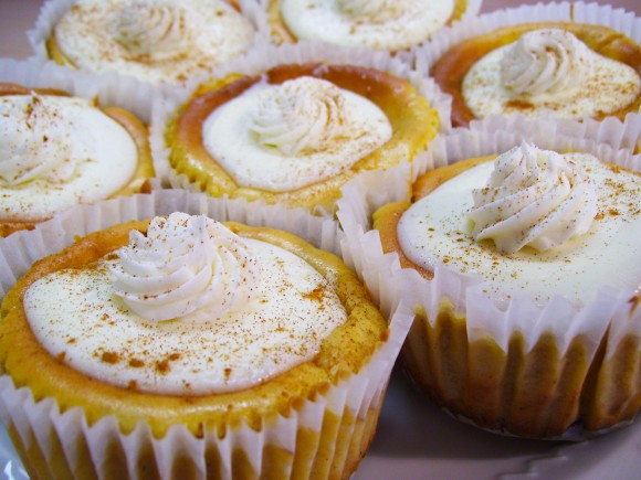 Pumpkin Cheesecake Cupcakes Recipe