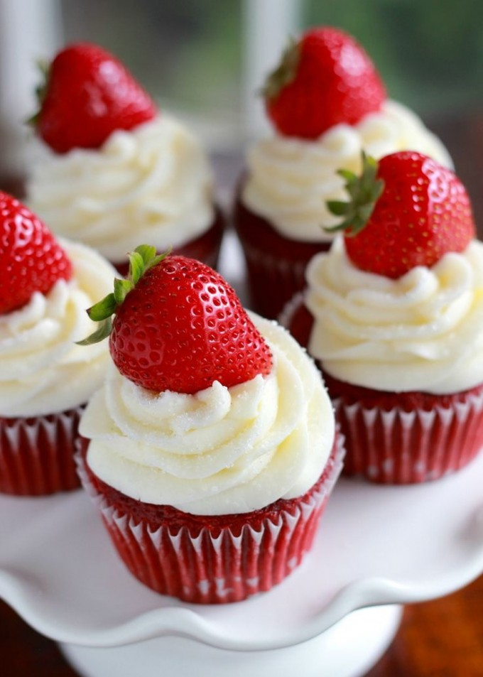 Red Velvet Valentine Cupcakes Ideas
