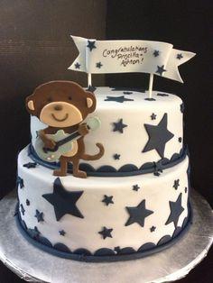 5 Photos of Carter's Monkey Rock Star Cakes