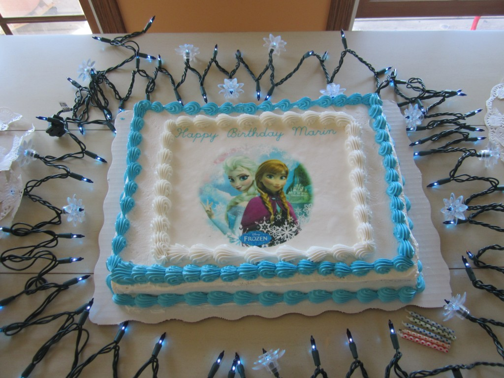Sam's Club Frozen Birthday Cakes