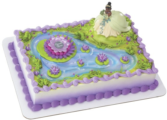 The Princess and Frog Cake Decorations