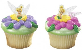 Tinkerbell Fairies Cupcake Toppers