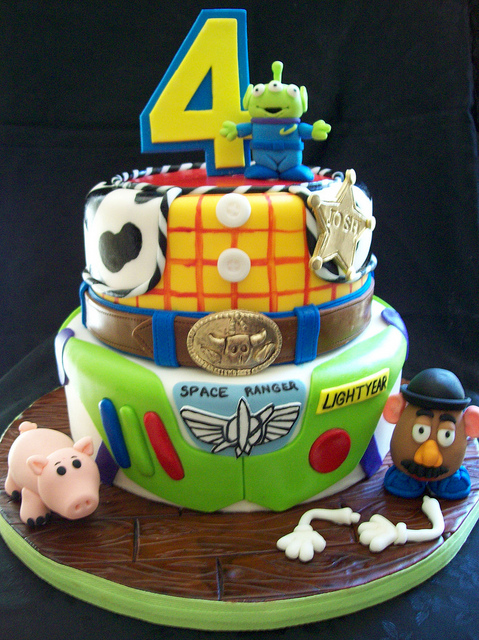 Toy Story Birthday Party Cake Ideas