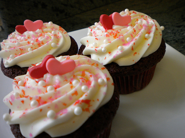 Valentine's Day Cupcake Decorations