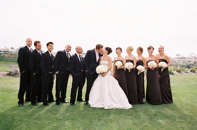 Wedding with Bridesmaids and Groomsmen