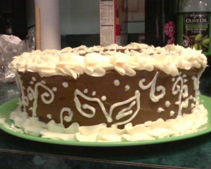 Wegmans Chocolate Birthday Cake