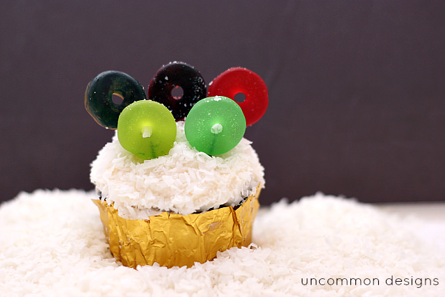 Winter Olympic Cupcakes: These