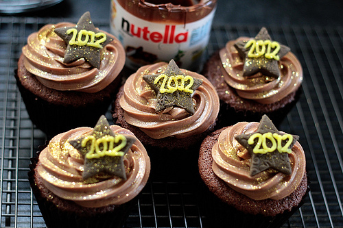2012 New Year's Cupcakes