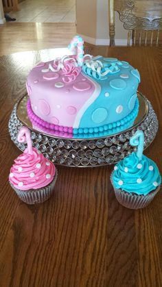 6 Photos of Adult Birthday Cakes For Twin Girls