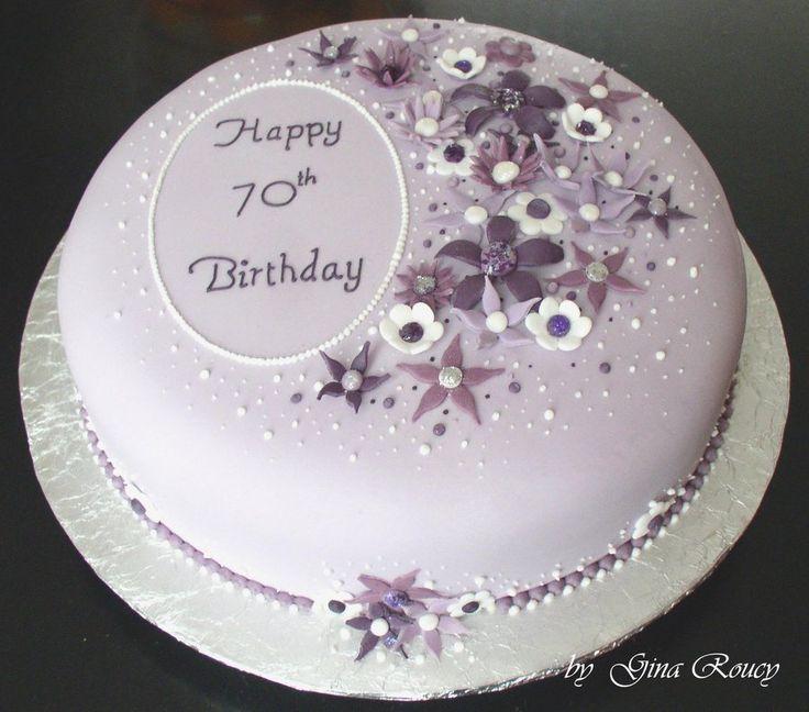 Birthday Cake for 70th Birthday Ideas