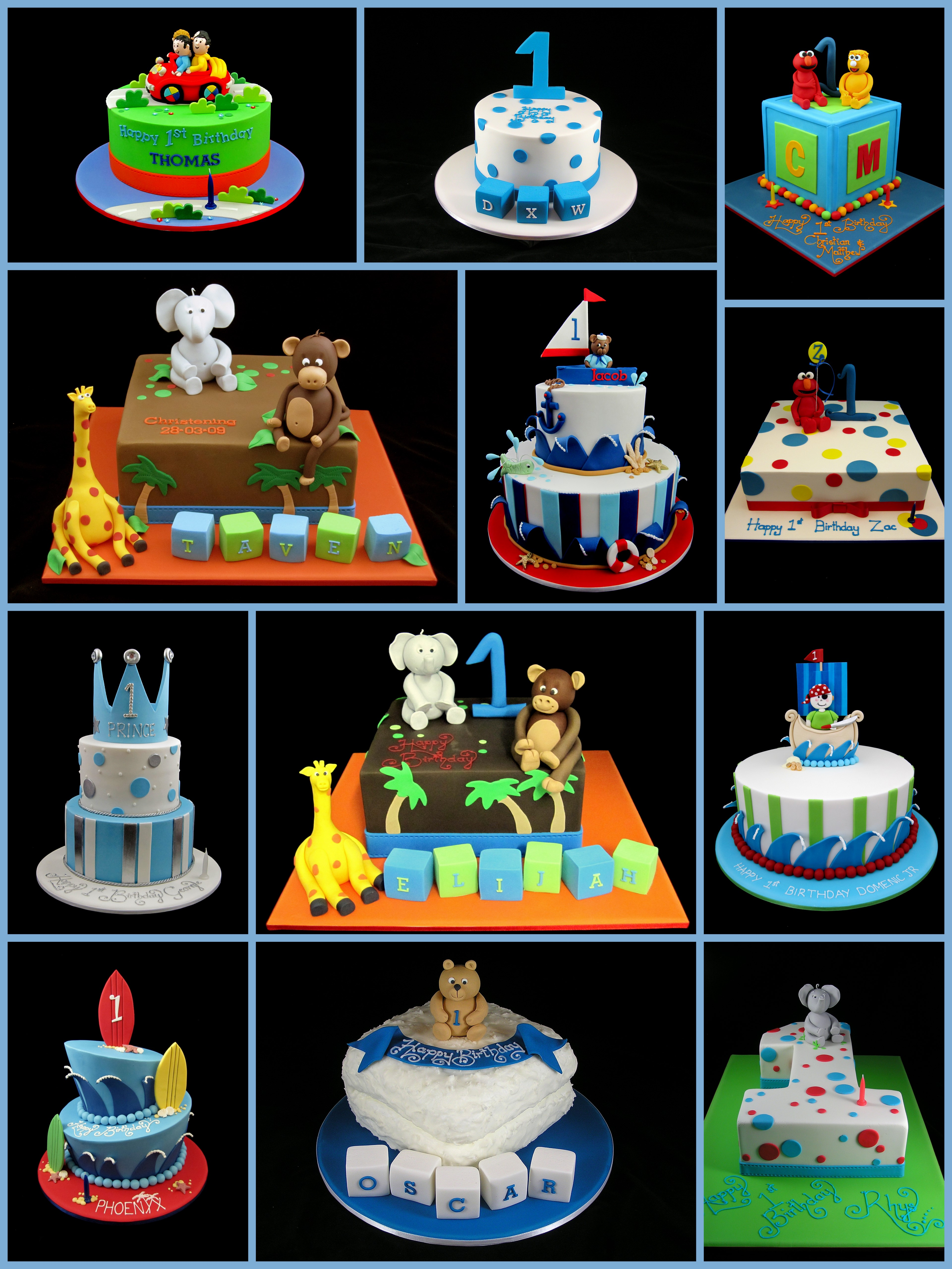 Enjoyable 10 First Birthday Birthday Cakes For Boys Photo Boys 1St Birthday Cards Printable Opercafe Filternl