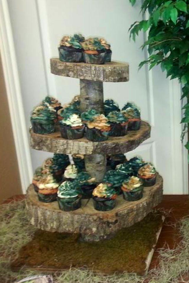 Camo Cupcakes
