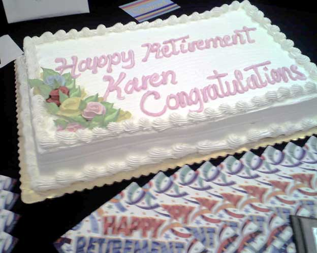 Costco Retirement Cakes