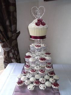 Cupcake Wedding Cakes Ideas
