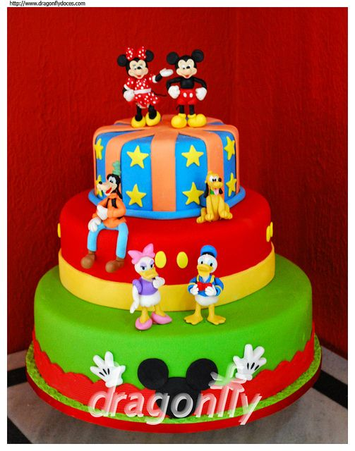 Disney Mickey Mouse and Friends Cake