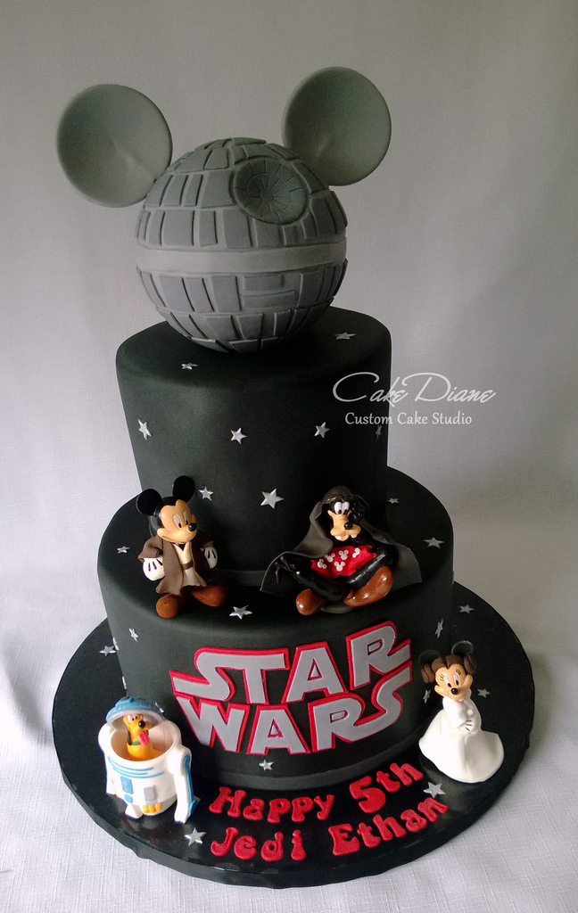 Outstanding 11 Amazing Star Wars Birthday Cakes Photo Star Wars Birthday Funny Birthday Cards Online Eattedamsfinfo
