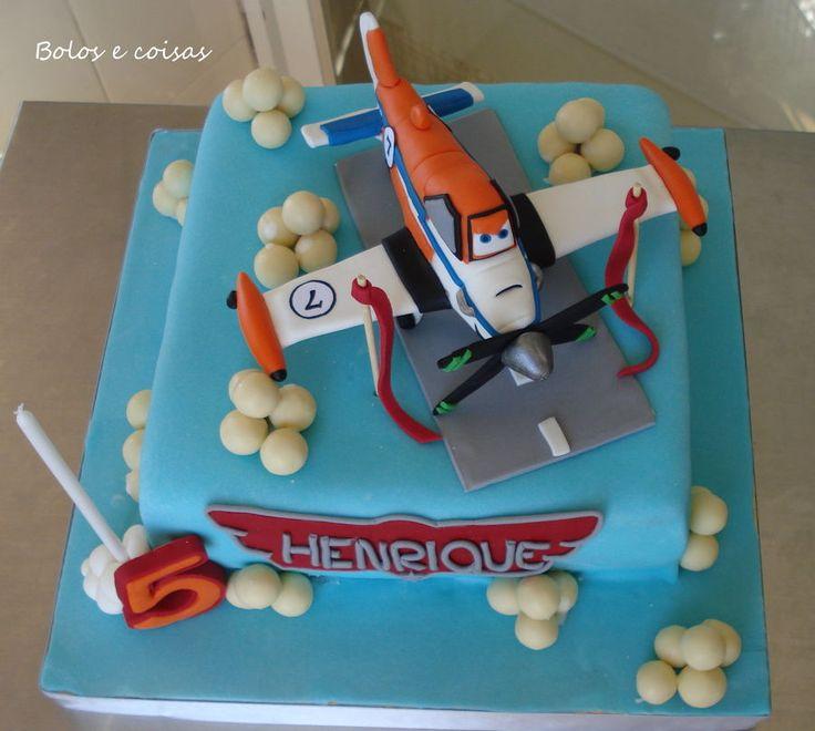 Dusty Disney Planes & Birthday Cake