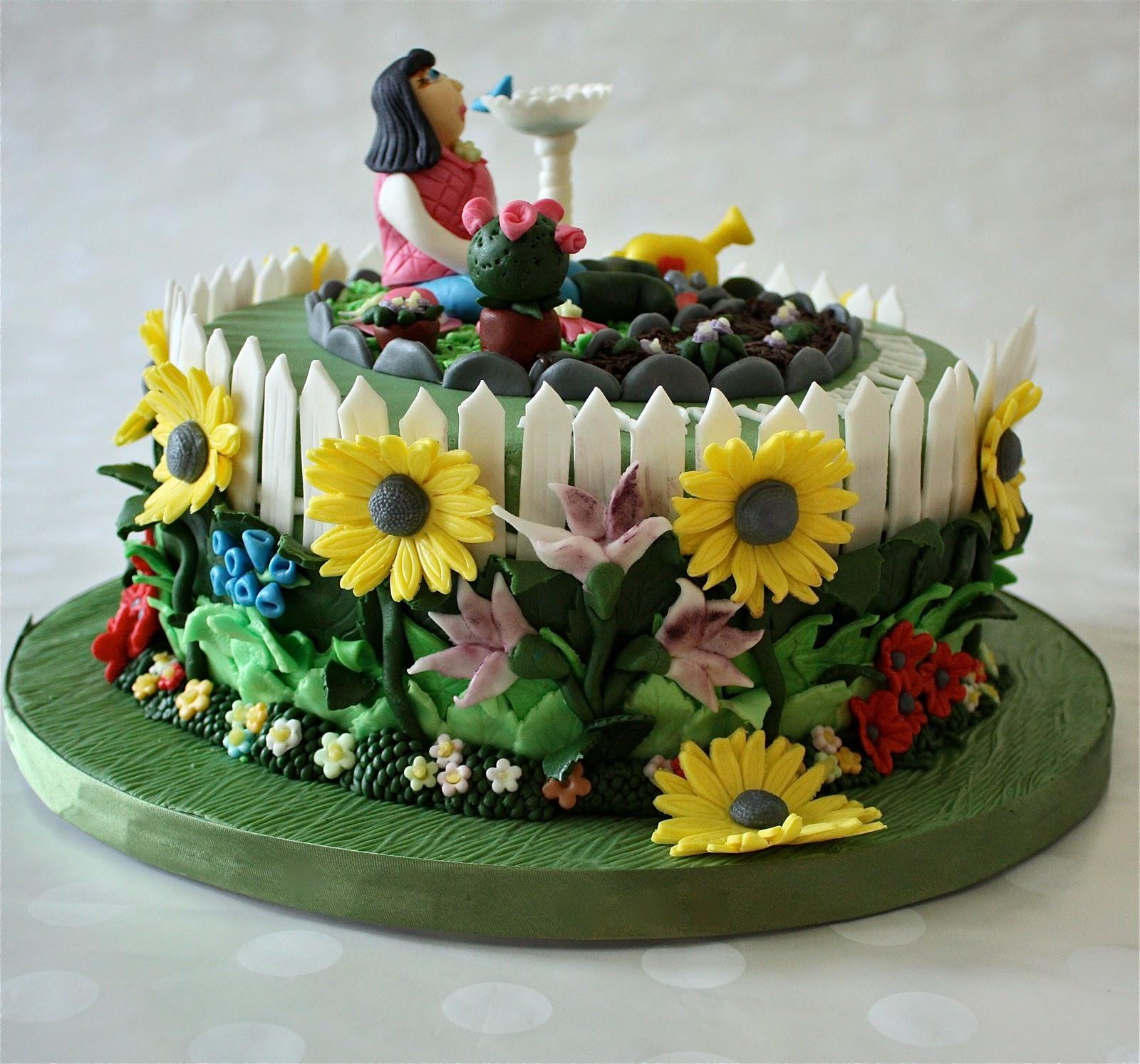 Incredible 12 Garden Flowers That Look Like Cakes Photo Flower Garden Cake Funny Birthday Cards Online Overcheapnameinfo