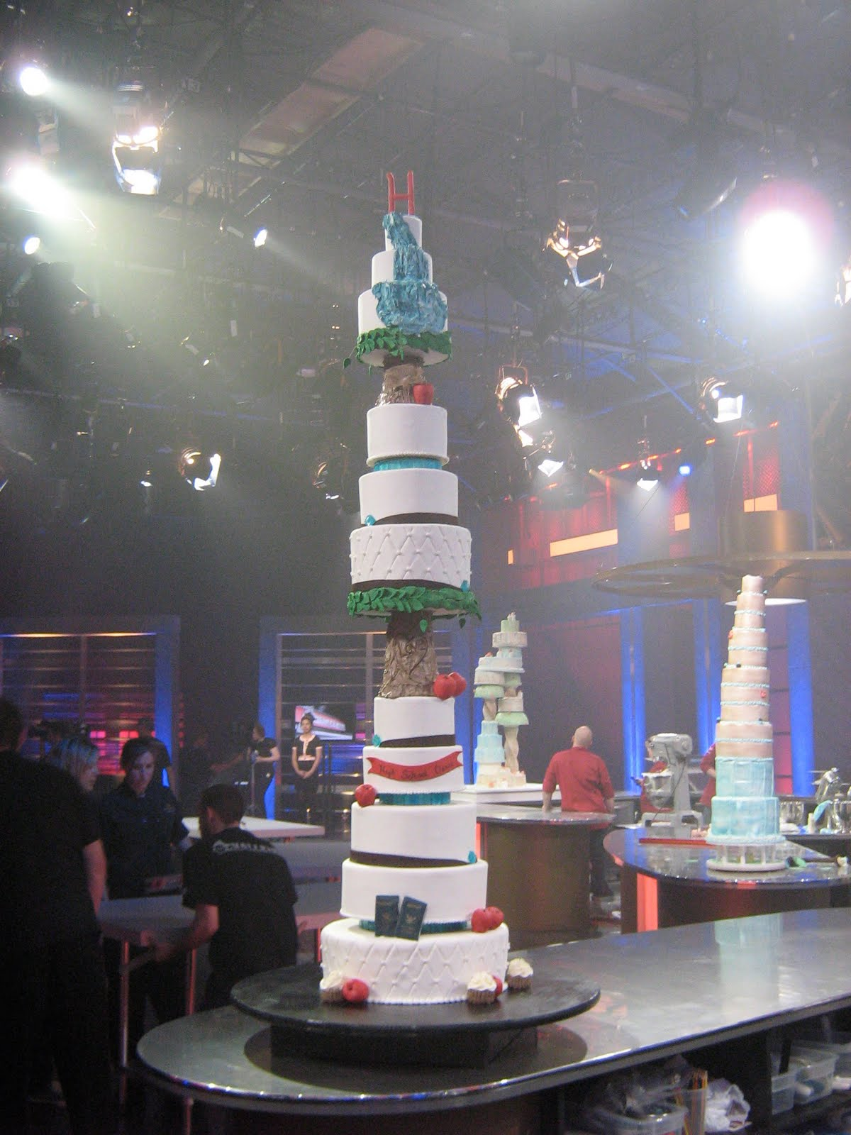 Food Network Challenge Wedding Cake