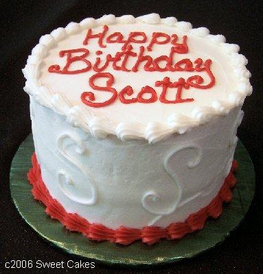 6 Photos of Happy Birthday Scott Cupcakes