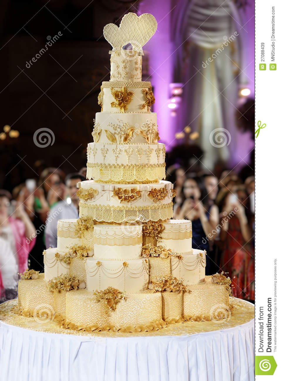 Giant Wedding Cake
