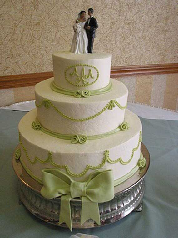 Green Wedding Cake Ideas