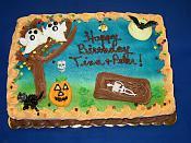 Halloween Sheet Cake
