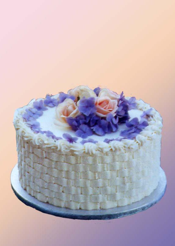 Informal Wedding Cake