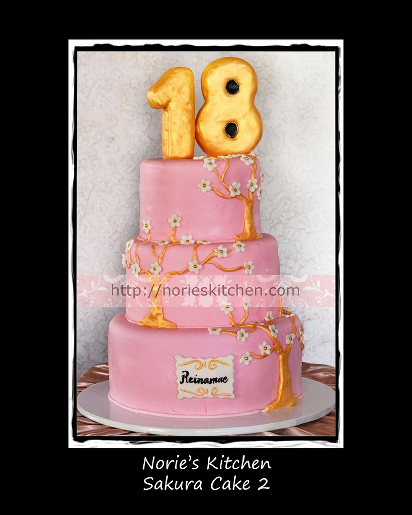 12 Photos of Norie's Debut Cakes