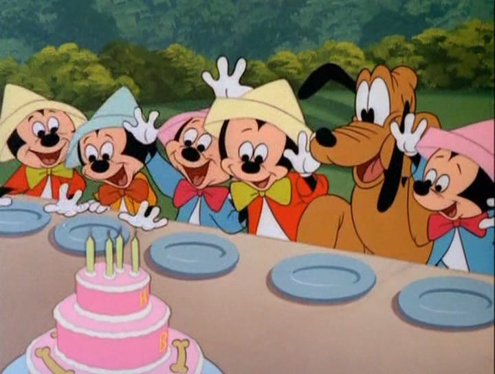 Mickey and Pluto Birthday Party