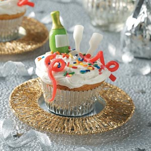 New Year's Eve Cupcakes Recipe