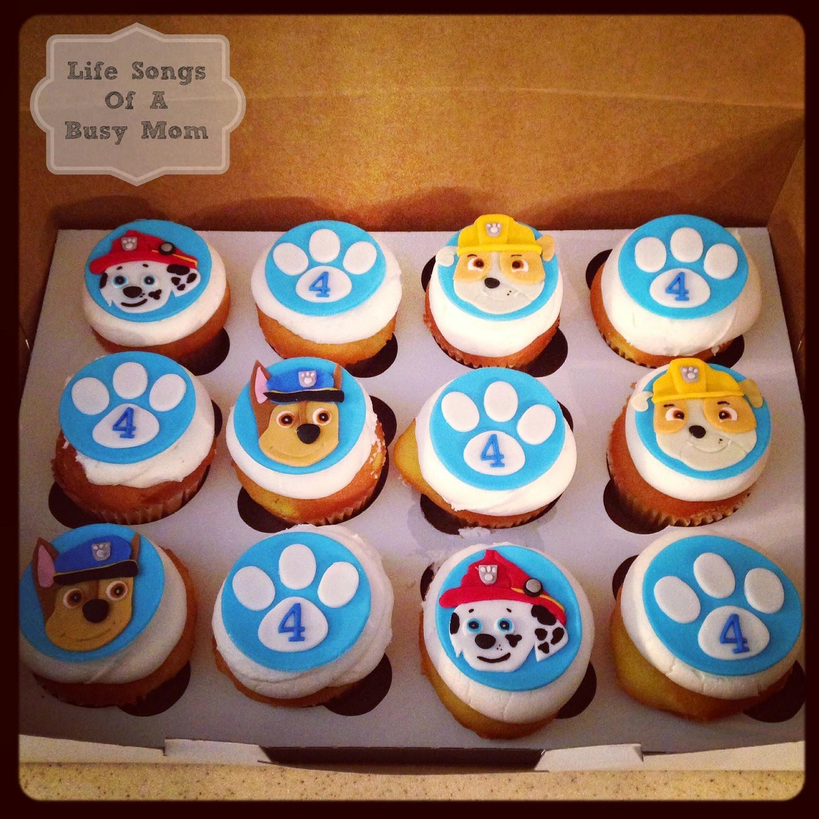 PAW Patrol Birthday Cake Cupcake