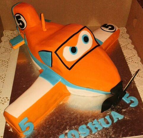 Planes Dusty Birthday Cake