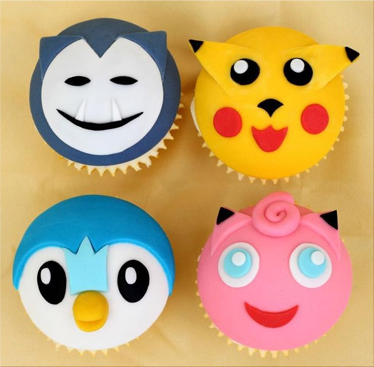 9 Photos of Pokemon Cookie Cupcakes