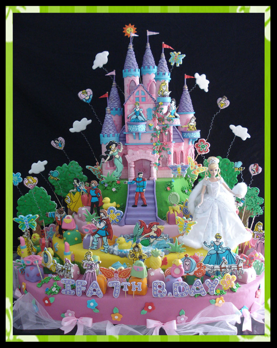 12 Photos of Princess Birthday Cakes For Toddlers