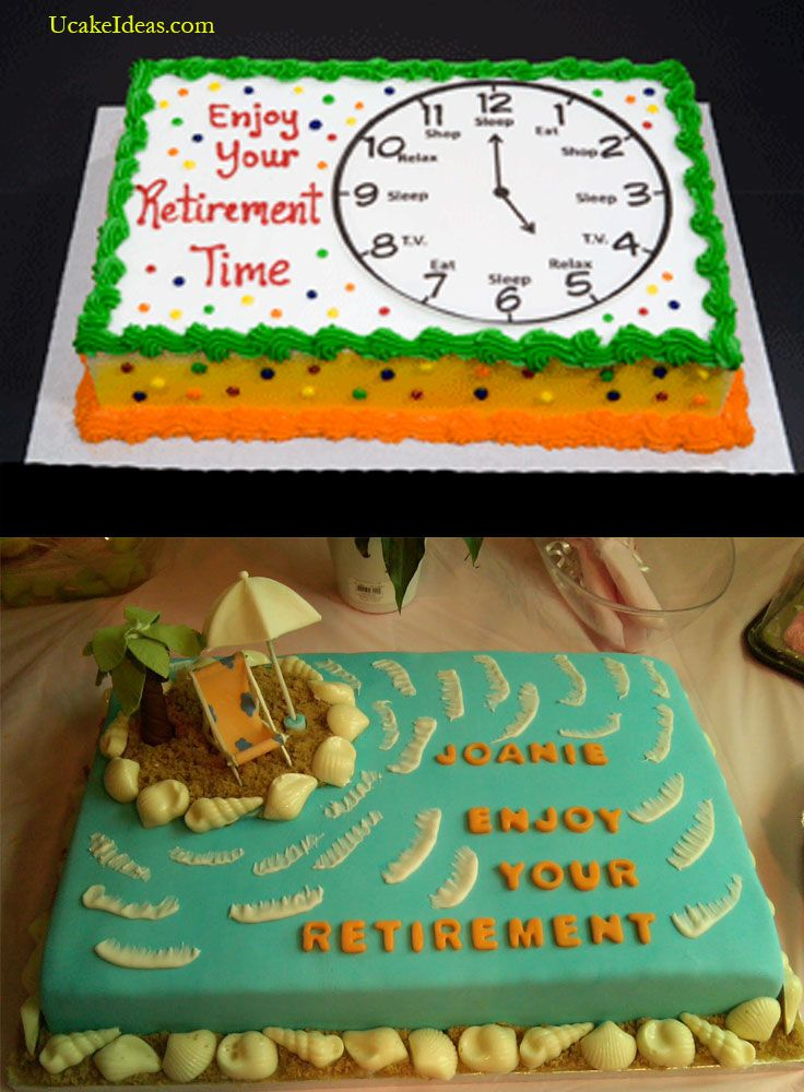 Retirement Cake Idea