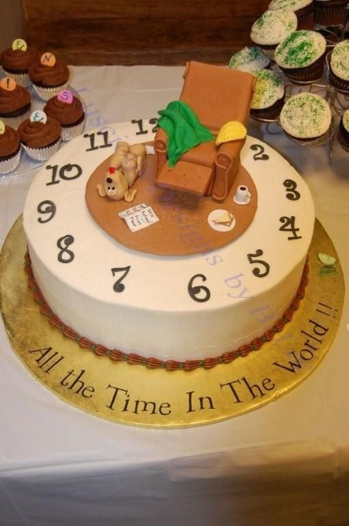 Retirement Cake Idea