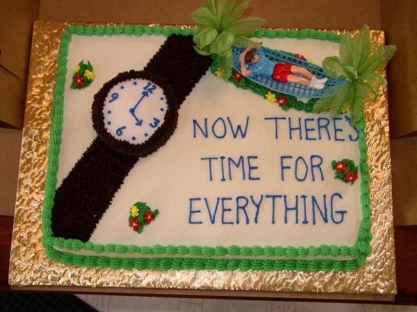 Retirement Cake Sayings Ideas