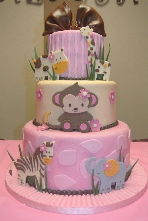 11 Photos of Baby Animal Cakes For Girls