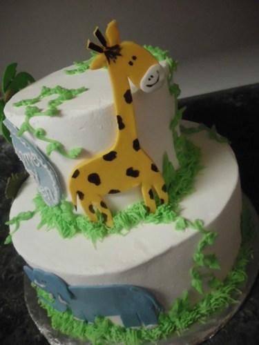 Safari Jungle Animal Edible Cake Decorations