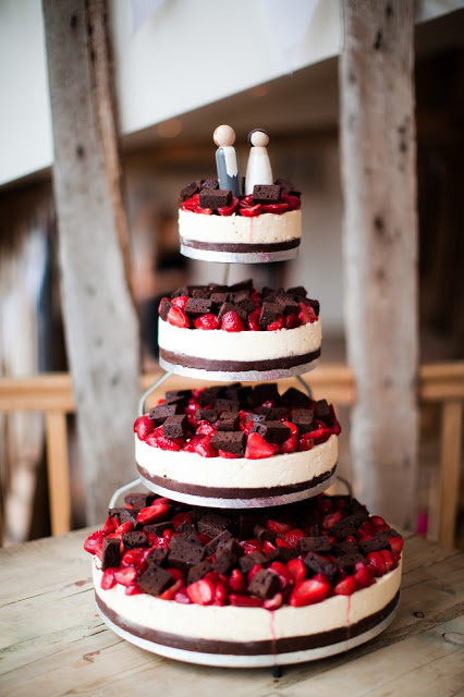 Strawberry Cheese Cake Wedding