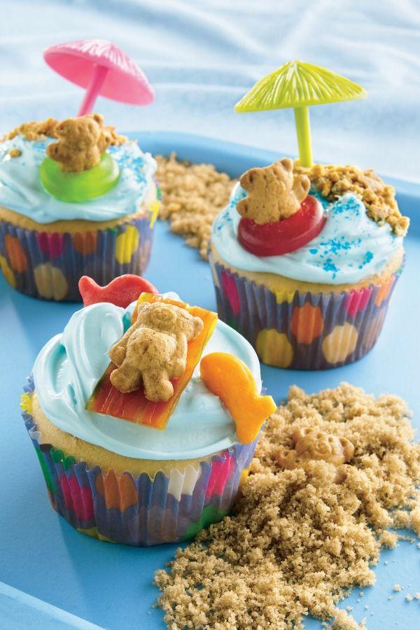 Summer Cupcake Idea Birthday