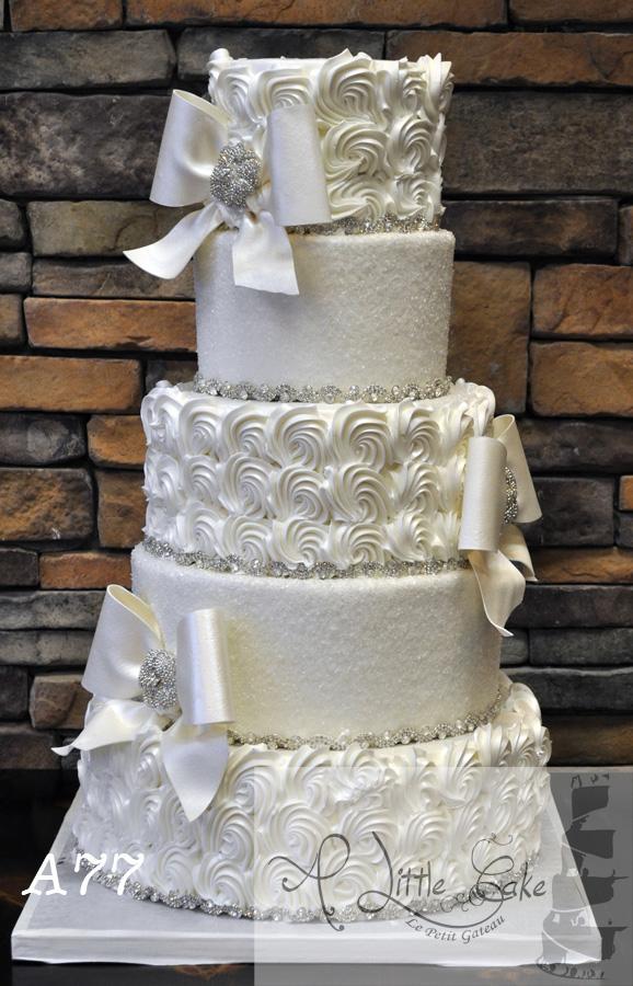 Tiered Buttercream Wedding Cake