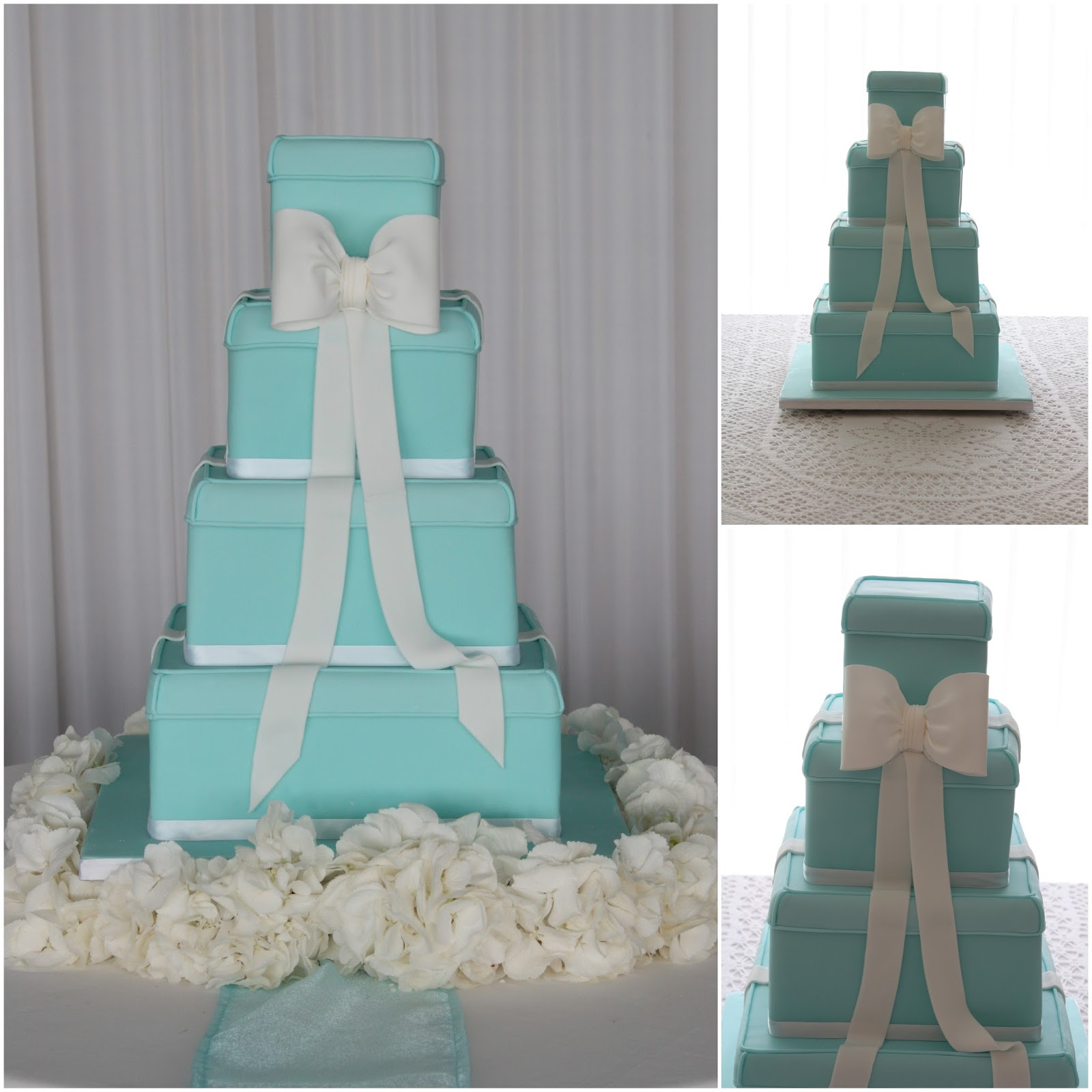Tiffany Wedding Cake Boxes