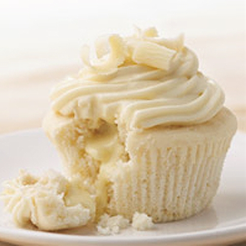 White Chocolate Truffle Cupcakes Recipe